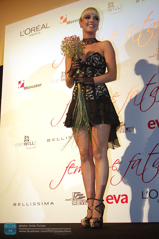 Nika Kljun je postala Femme Fatale 2010