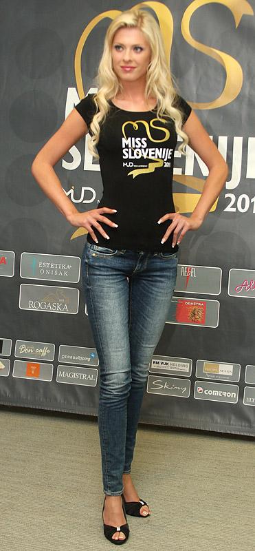 Miss Slovenije ki to ni - Tjaša Vezjak