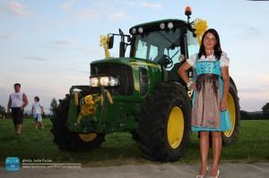 Naj traktoristka – špela črnivec