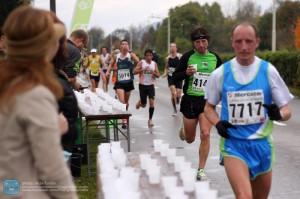 Tekači na ljubljanskem maratonu leta 2010
